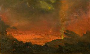 David Howard Hitchcock – Halemaumau, Lake of Fire