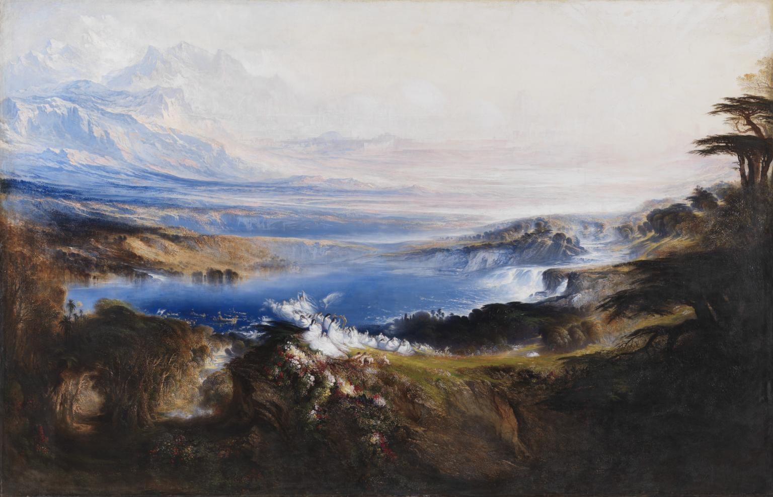 The Plains of Heaven 1851-3 John Martin 1789-1854 Bequeathed by Charlotte Frank in memory of her husband Robert Frank 1974 http://www.tate.org.uk/art/work/T01928