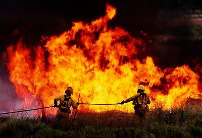 Nevada Wildfire