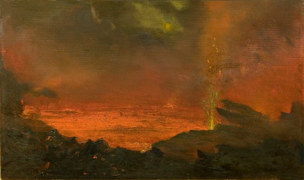 David Howard Hitchcock - Halemaumau, Lake of Fire