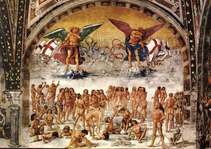 Signorelli, Luca - Resurrection of the Flesh